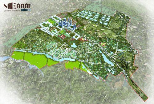 TP. Hà Nội phê duyệt quy hoạch thị trấn sinh thái Phúc Thọ với diện tích 945 ha