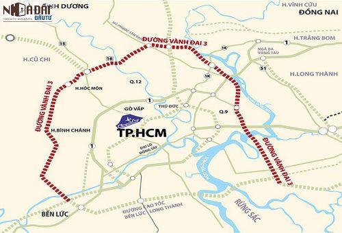 48km đường vành đai 3 TP.HCM trở thành đường cao tốc