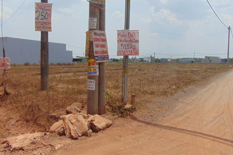 Đồng Nai vẫn tấp nập phân lô bán nền, giá đất chỉ tăng không giảm