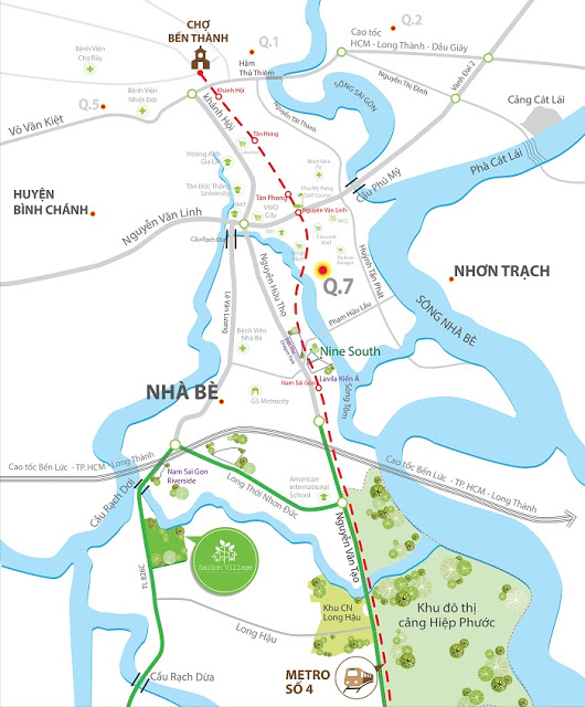 Đất nền dự án Sài Gòn Village Long Hậu