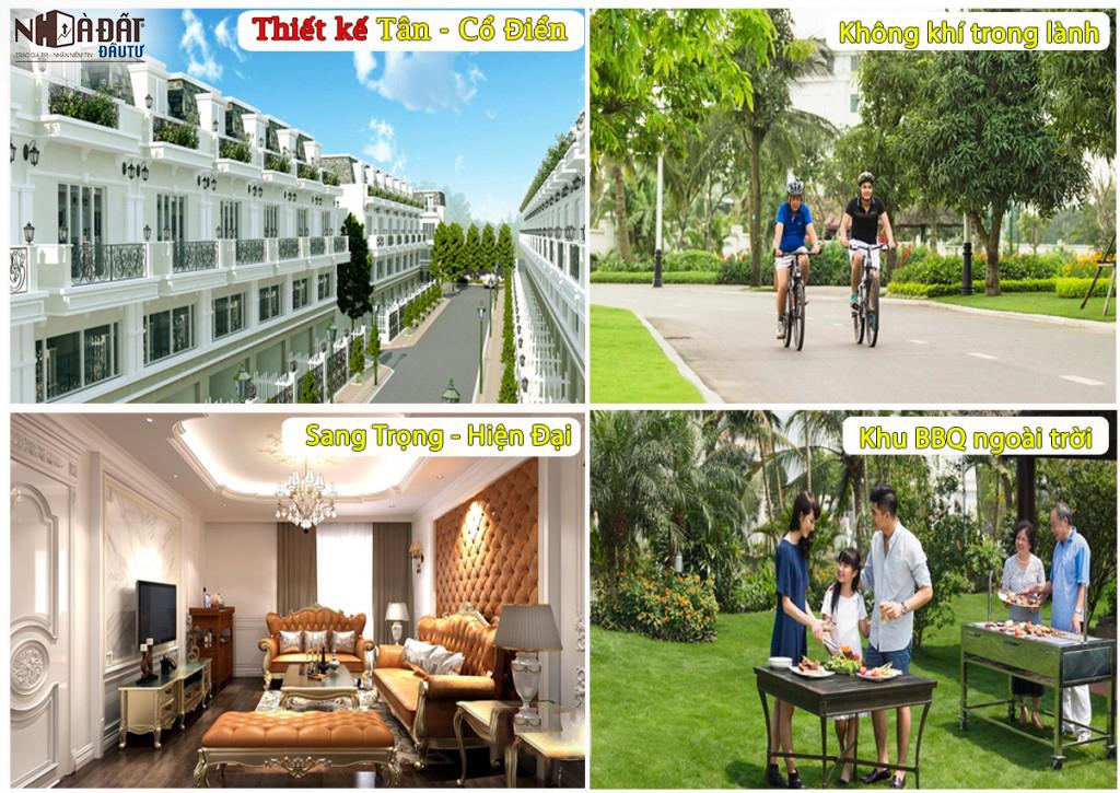 Tiện ích nội khu Dự án Sofia Town Tân An