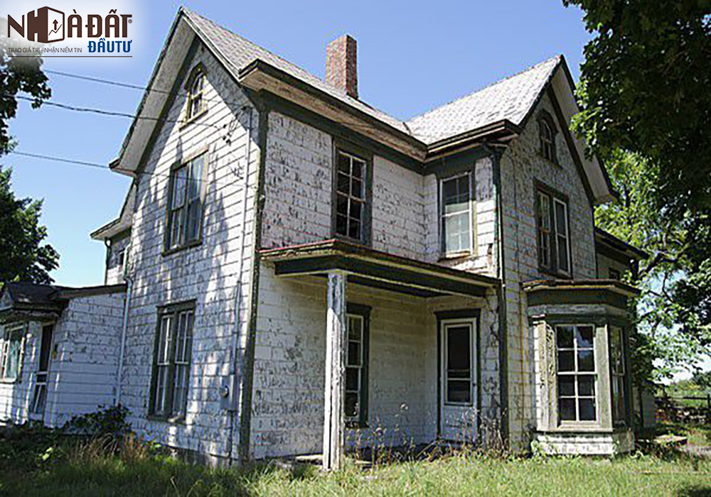 Kinh nghiệm mua nhà cũ, nát dành cho nhà đầu tư